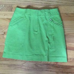 INC sz 4 EUC skirt lime green, wore one time